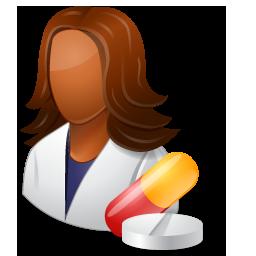 Pharmacist Female Dark