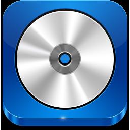 CD ROM blue