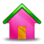 Home pink icon