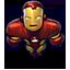 Flying Iron Man Icon