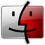 Finder red icon
