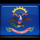 North Dakota Flag-128