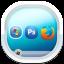Desktop White Icon