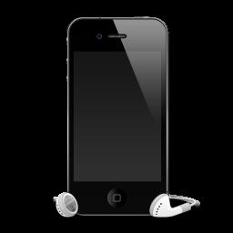 iPhone 4G headphones shadow