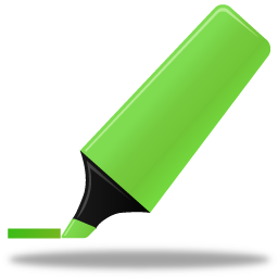 Highlightmarker green