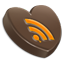 RSS heart icon