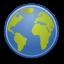 Gnome Emblem Web icon
