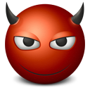 Emoticon Devil-128