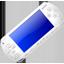 White Playstation Portable Icon