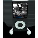 Black iPod Nano-128