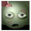 Zombie emoticon icon