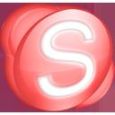 Skype red-128