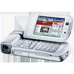 Nokia N93 silver