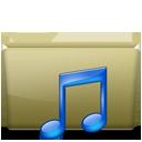 Folder Music Brown-128