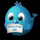Twitter follow me-128