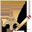 Eiffel Tower Write icon