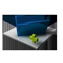 Blue Folder Add-128