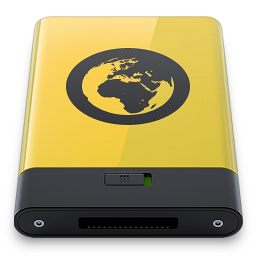HDD Yellow Server