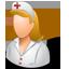 Nurse Female Light icon