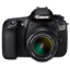 Canon 60D front up icon