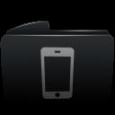 Folder black iphone-128