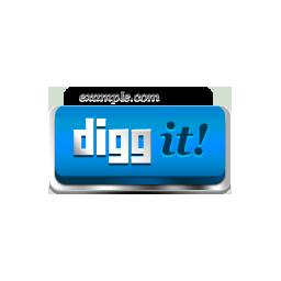 Digg It blue