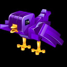 Twitter robot bird alt