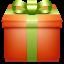 Gift Orange icon