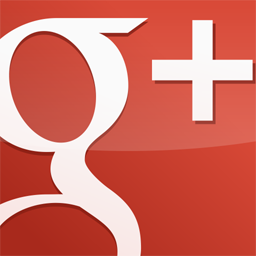 GooglePlus Square Gloss Red