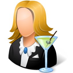 Bartender Female Light
