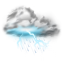 Thunder Storms Icon