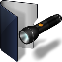 Folder Blue Pocket Lamp-128