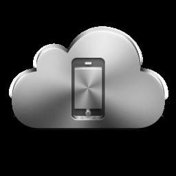 Cloud Mobile Device Silver