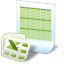 Document Excel icon