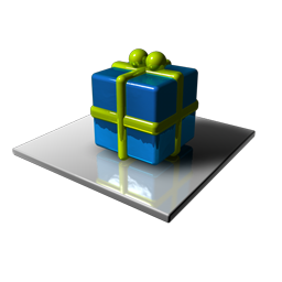 Blue & Green Cube