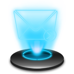 E-mail Hologram