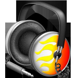 Fiery Funk headphones