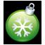 Christmas ball green-64
