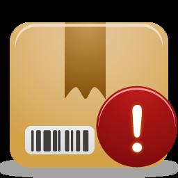 Package warning