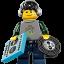 Lego DJ icon
