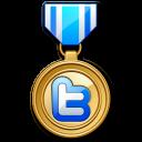Twitter medal-128