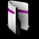 Folder purple-128