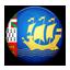 Flag of Saint Pierre and Miquelon icon