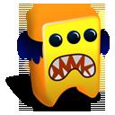 Orange Creature-128