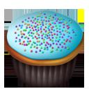 Cupcakes blue-128
