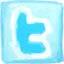 Twitter hand drawn Icon
