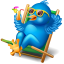 Twitter relax icon