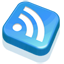 RSS Feed Blue Icon