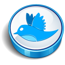 Twitter blue cooky-128