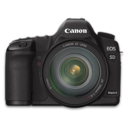 Canon 5D front